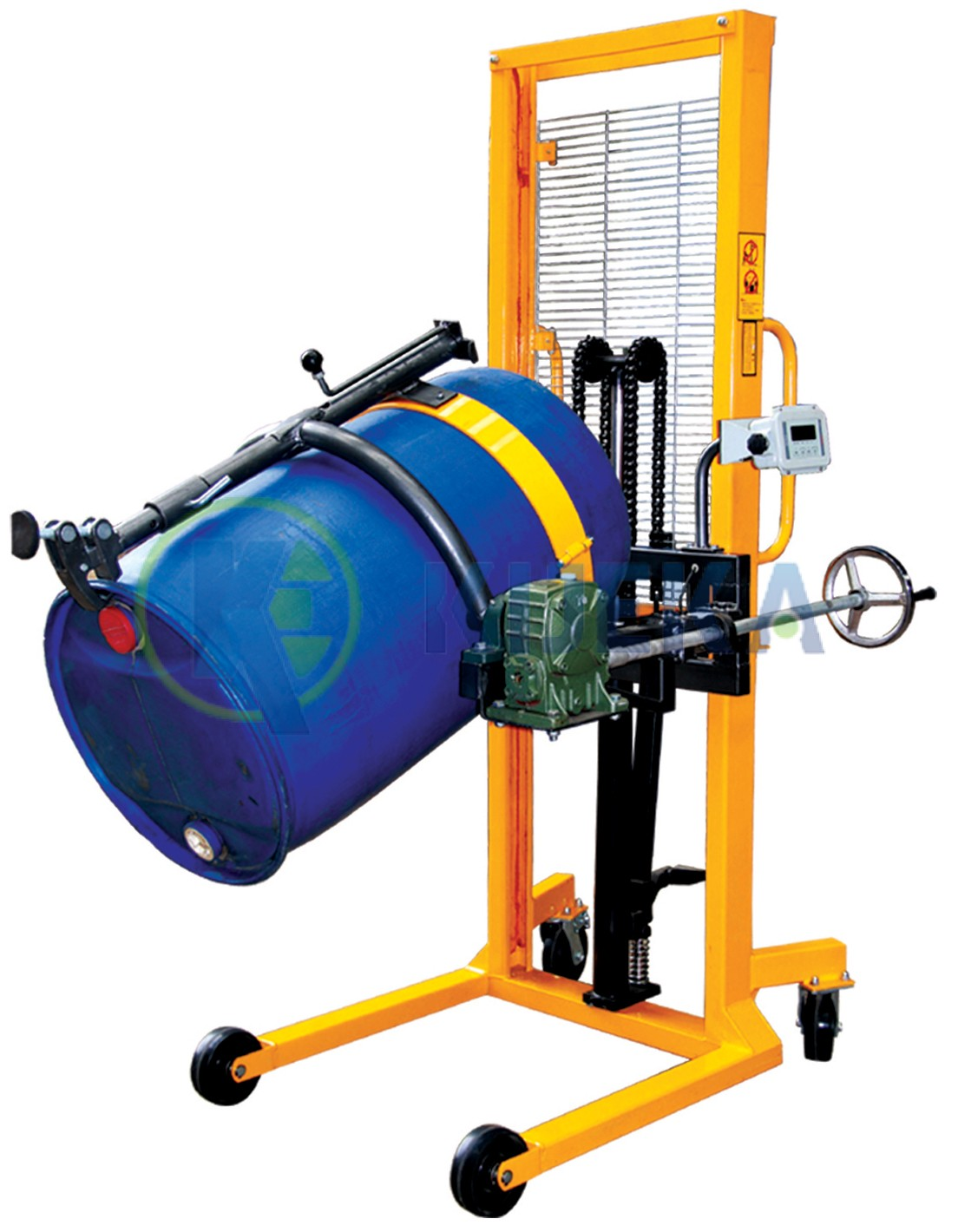 Manual Drum Lifter Tilter With Scale