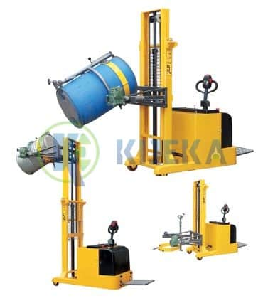 Counterbalance-fully-powered-drum-lifter-tilter