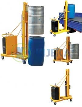 Counterbalance-semi-powered-drum-stacker