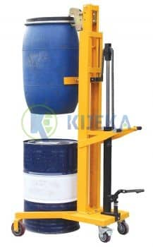 Manual-Drum-Stacker-V-Shaped-Base