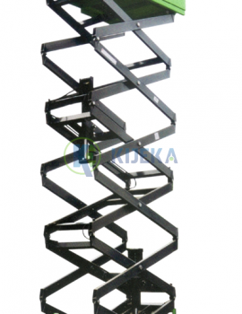 Mobile Scissor Lift Platform- Up to 16 Meter