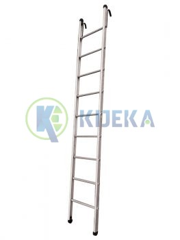 Wall Supporting Ladders Round Step